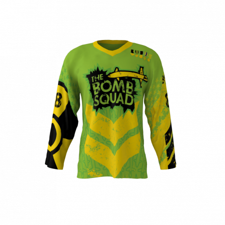 Bomb Squad Custom Roller Hockey Jersey