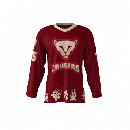 Cougars Custom Hockey Jersey