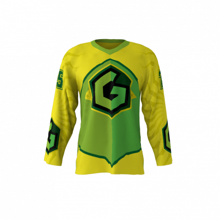 Gang Green Custom Hockey Jersey