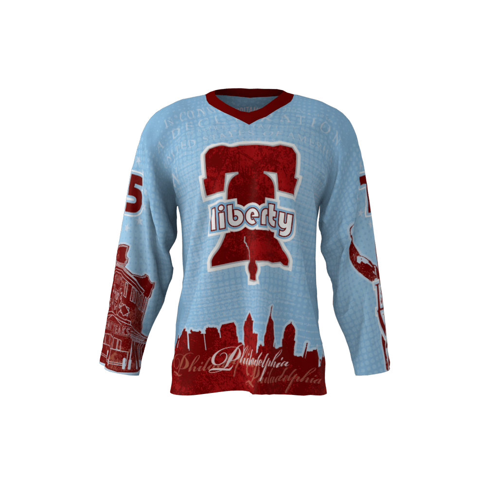 Liberty Powder Blue Jersey – Sublimation Kings ae6aae5cb61