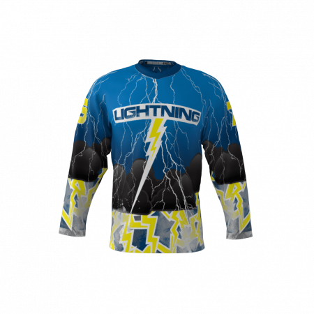 Lightning Custom Roller Hockey Jersey