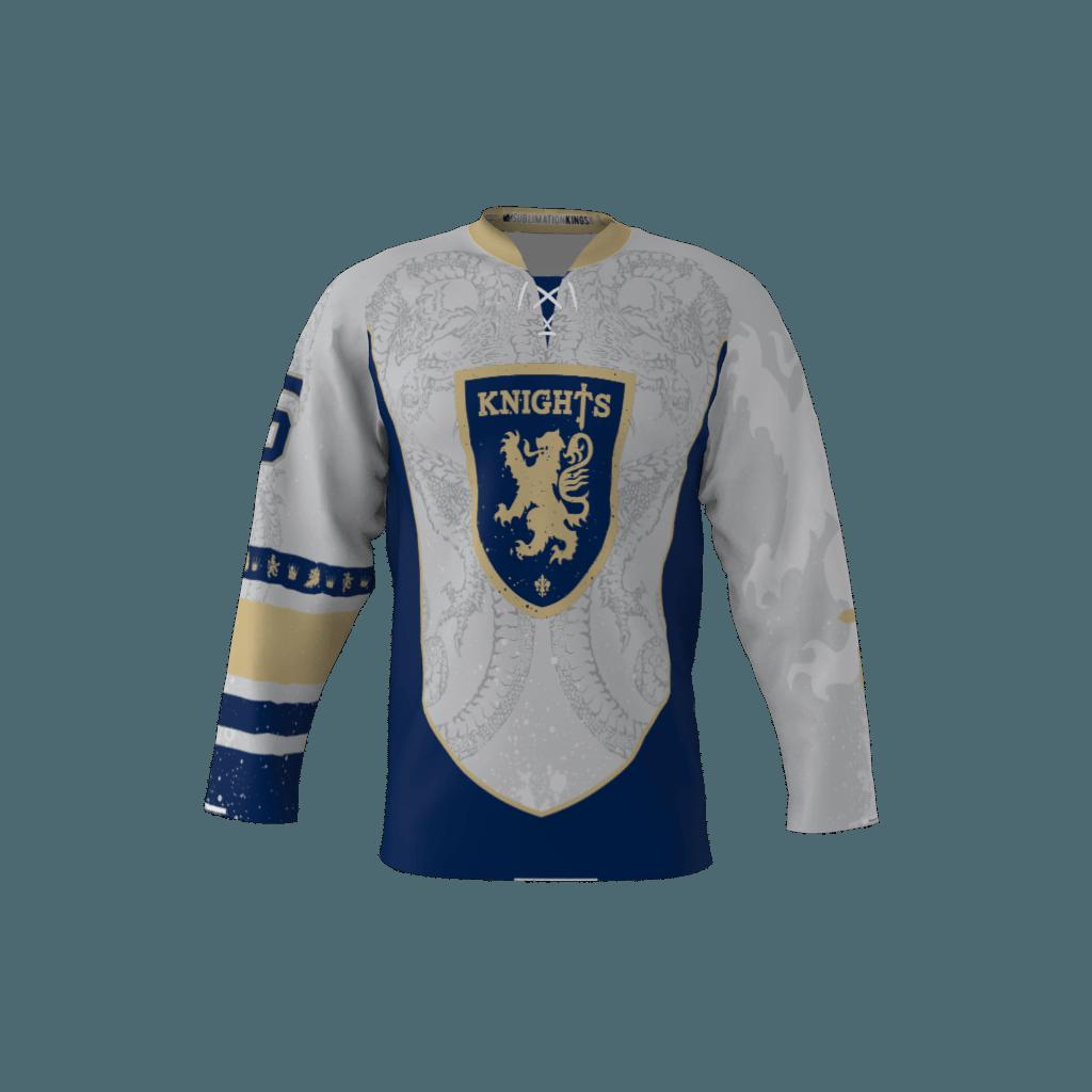 Knights Custom Roller Hockey Jersey 2e2fb86350b