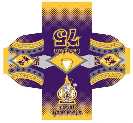 Royal Hammers Custom Roller Hockey Jersey