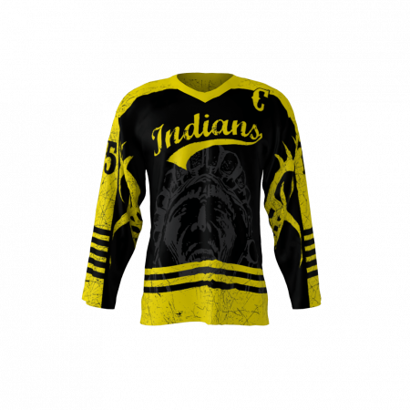 Indians Custom Hockey Jersey