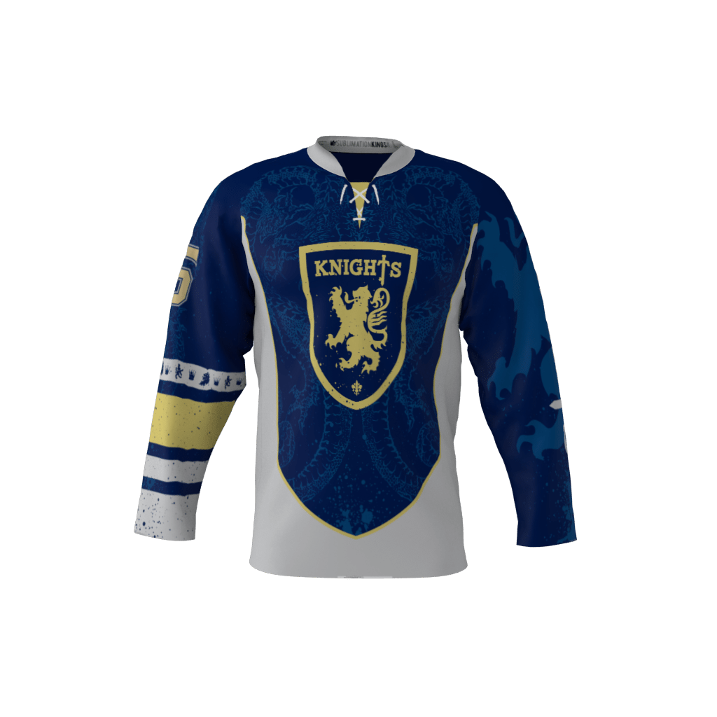 Knights Blue Jersey – Sublimation Kings 02f6bf3e3bb