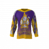 Royal Hammers Custom Hockey Jersey