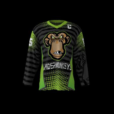 Spider Monkeys Custom Hockey Jersey