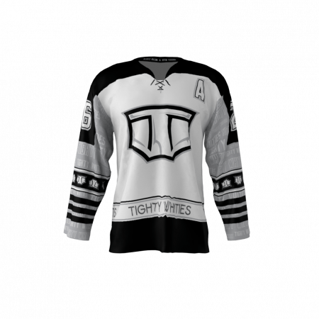 Tighty Whities Sublimated Custom Hockey Jersey
