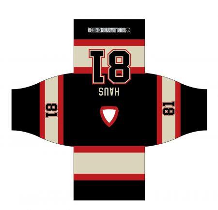 Chicago 1934 Hockey Jersey Black