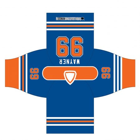 Edmonton 1982 Hockey Jersey Blue
