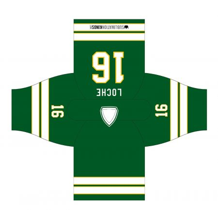 Minnesota 1980 Hockey Jersey Green