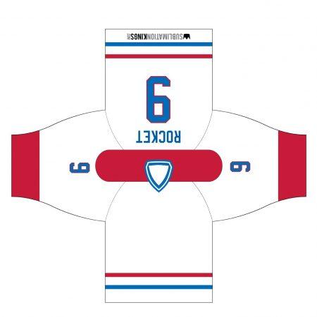 Montreal 1974 Hockey Jersey White