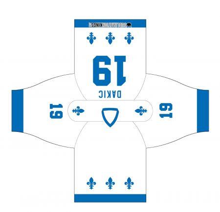 Quebec Hockey Jersey White