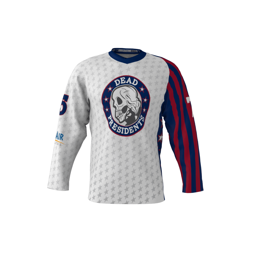 Dead Presidents Custom Roller Hockey Jersey 8ac8e56ca8f