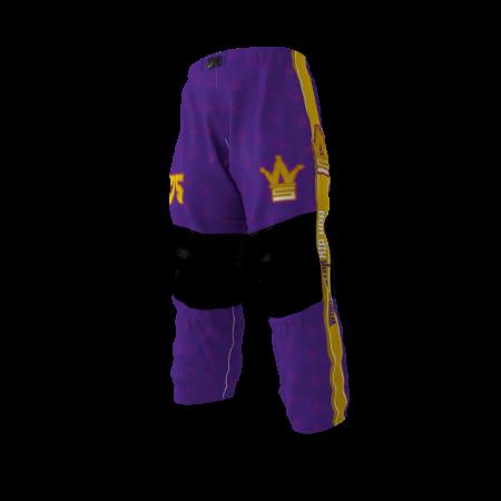 World Star Hip Hop Custom Dye Sublimated Roller Hockey Pants