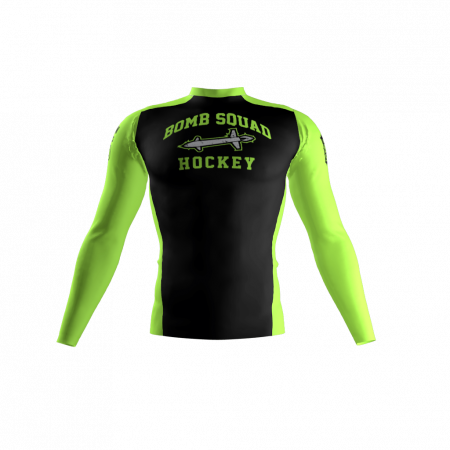 Bomb Squad Custom Compression Shirt Front