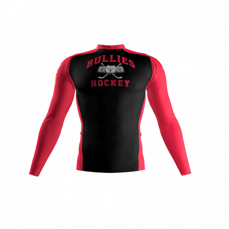 Broadway Bullies Custom Compression Shirt Front