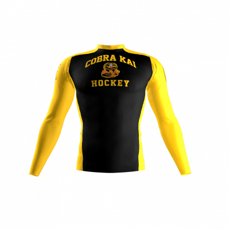 Cobra Kai Custom Compression Shirt Front