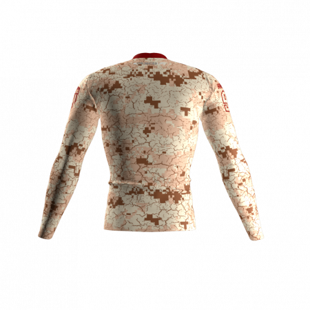 Deserters Custom Compression Shirt Back