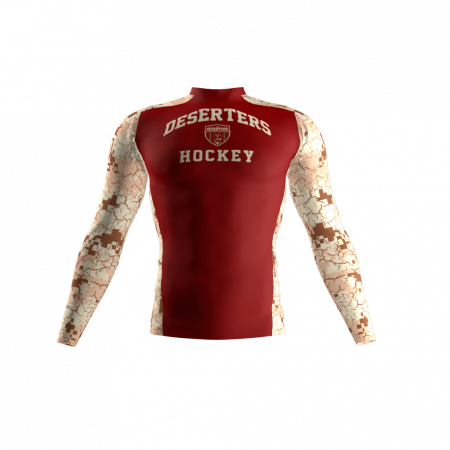 Deserters Custom Compression Shirt Front