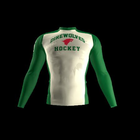 Direwolves Custom Compression Shirt Front