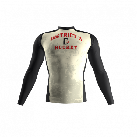 District 5 Custom Compression Shirt Front