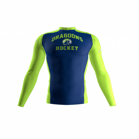 Dragoons Custom Compression Shirt Front
