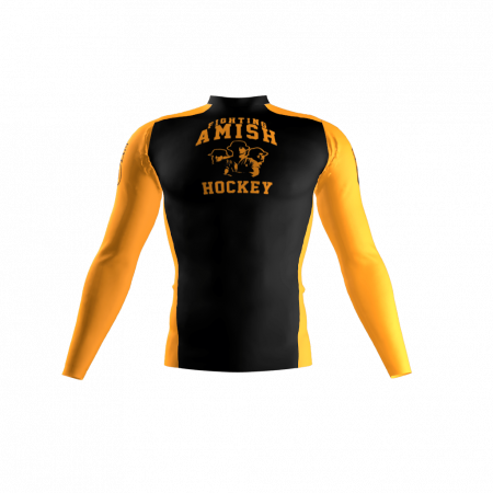 Fighting Amish Custom Compression Shirt Front