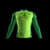 Gang Green Custom Compression Shirt Front