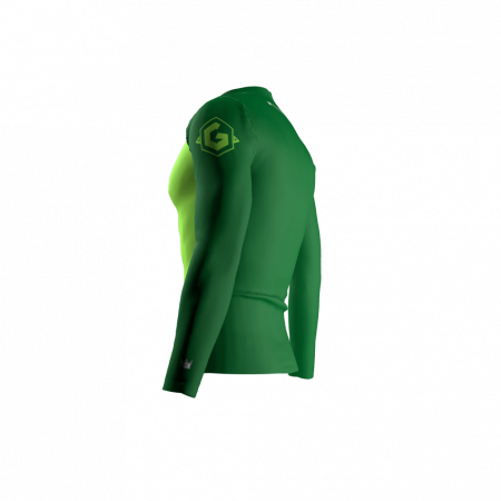 Gang Green Custom Compression Shirt Left