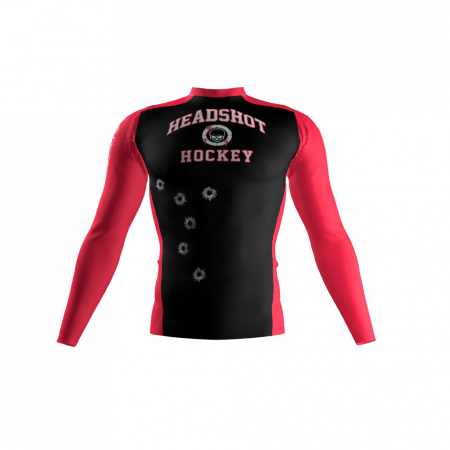 Headshot Hockey Custom Compression Shirt Front