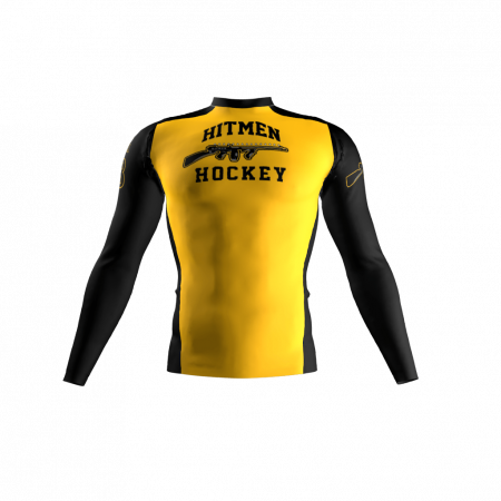 Hitmen Custom Compression Shirt Front