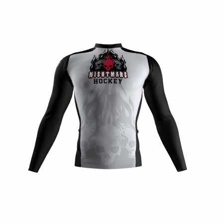 Nightmare Custom Compression Shirt Front