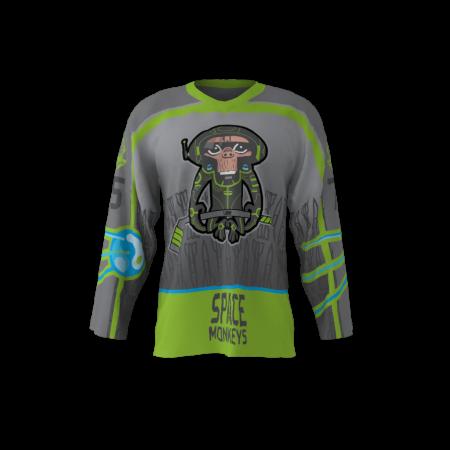 Space Monkeys Custom Roller Hockey Jersey