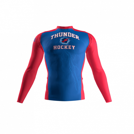 Thunder Custom Compression Shirt Front