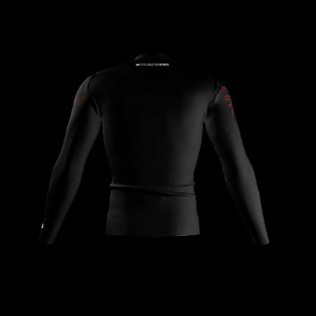 Vipers Custom Compression Shirt Back