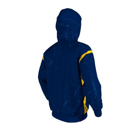 West Virginia Custom Hoodie Back