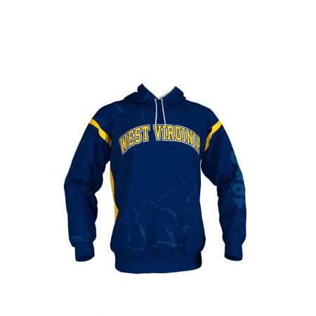 West Virginia Custom Hoodie Front