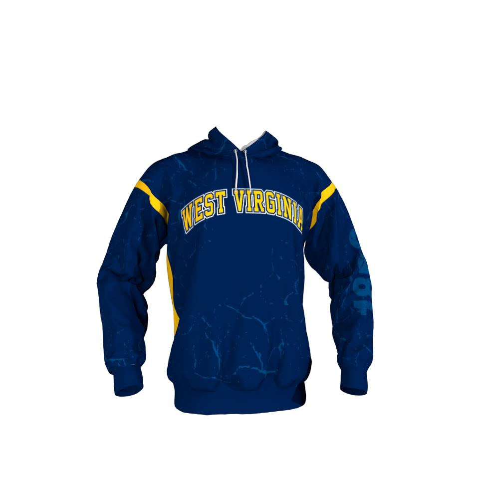 420a9884f West Virginia Blue Hoodie – Sublimation Kings