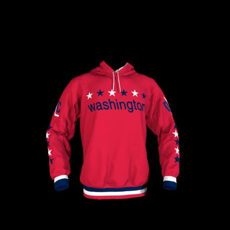 Washington DC Custom Hoodie Front