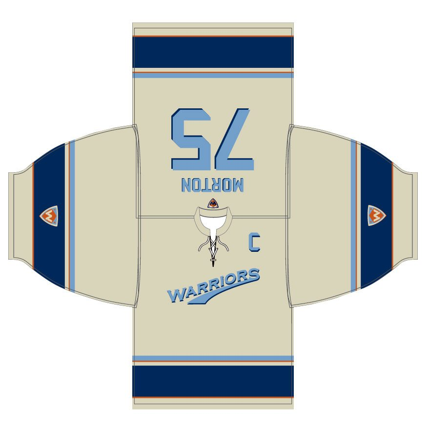 Warriors Vintage 53