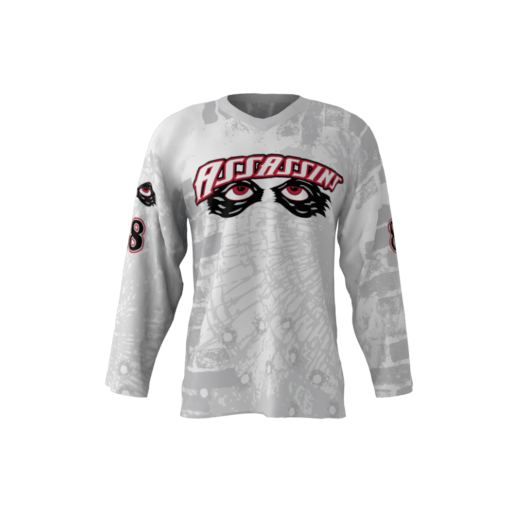 Assassins Gray Jersey – Sublimation Kings 783ff254e8f