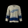 Warriors Vintage Custom Hockey Jersey