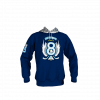 Custom Sublimated Section 8 Hockey Hoodie Front