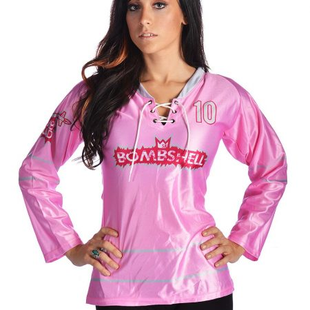 Bombshell Female Cut Jersey Front