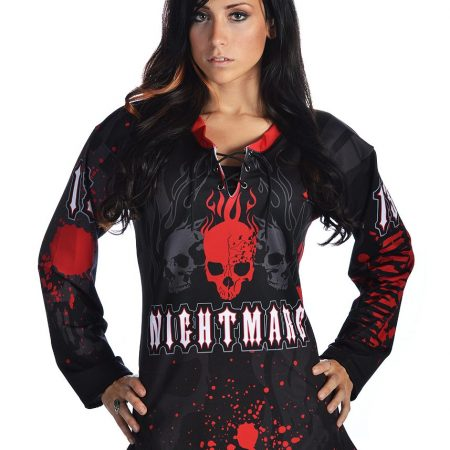 Nightmare Female Cut Jersey Front