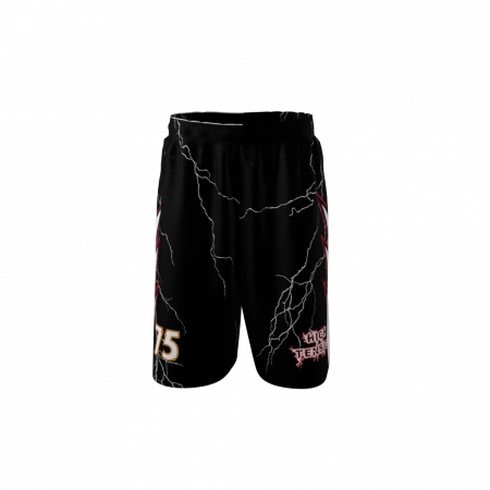 High Tension Custom Sublimated Softball Shorts Front