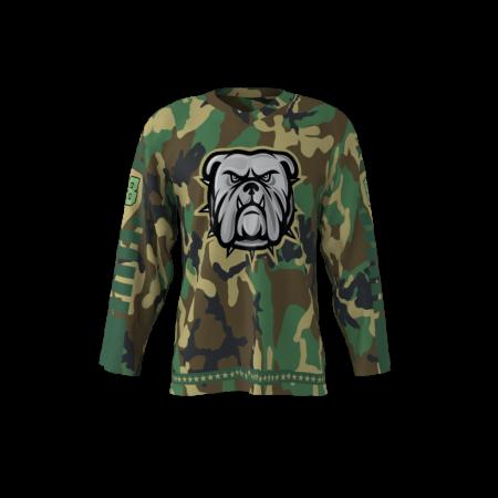 Bulldogs Custom Hockey Jersey
