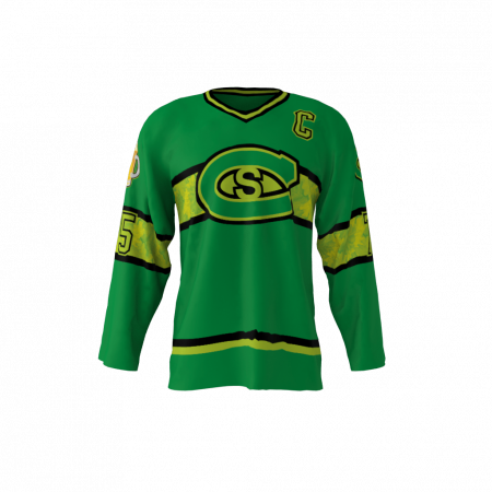 Cobb Salad Custom Roller Hockey Jersey