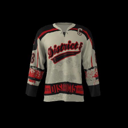 District 5 Custom Roller Hockey Jersey